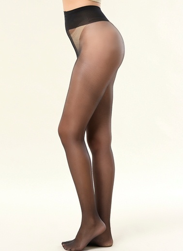 Dagi İpince Külotlu Kadın Çorap Siyah